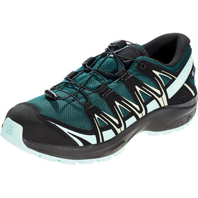 Salomon XA Pro 3D CSWP Scarpe Ragazzi, green gables/icy morn/patina green